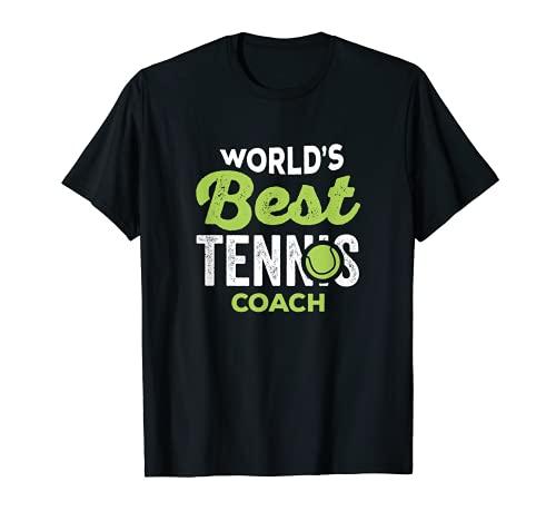 Regali di tennis - Miglior allenatore di tennis al mondo Maglietta
