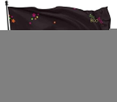 YRTGF Garten Flagge Halloween Happy Wallpaper Urlaub Tapete Outdoor Banner 3x5 Fuß US Polyester Flagge UV Fade Resistant dekorative Zäune/Garten/Patio/Rasen