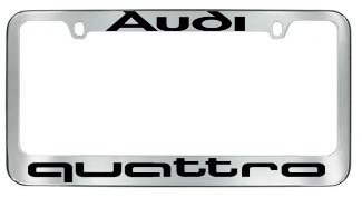 quattro license plate frame - 1