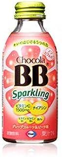 チョコラBBスパークリング グレープフルーツ&ピーチ味140ml【72本】