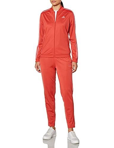 adidas GM5581 W 3S TR TS Tracksuit womens crew red/hazy rose M