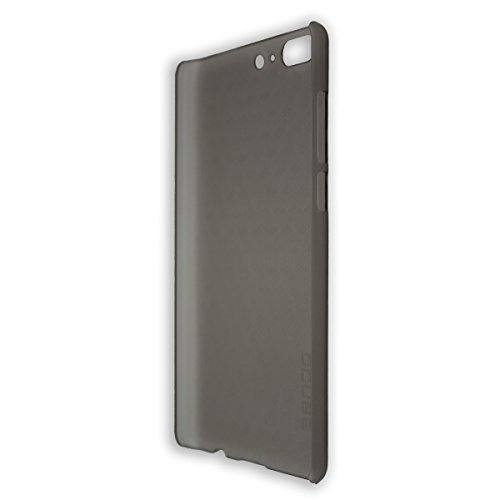 caseroxx Backcover für Leagoo T5 / T5C, Tasche (Backcover in schwarz-transparent)