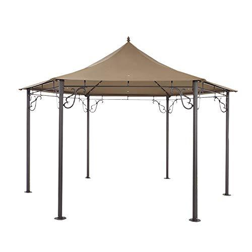Garden Winds Pacific Grove Hexagon Gazebo Replacement Canopy Top Cover - RipLock 350