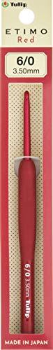 かぎ針 『ETIMO Red(エティモレッド) クッショングリップ付きかぎ針 6/0号 』 Tulip チューリップ