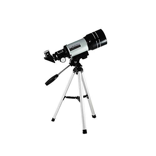 WNN-URG La óptica de Vidrio refracción Telescopio, Telescopio Refractor for Principiantes, Totalmente Recubierto - Altura Ajustable del trípode URG