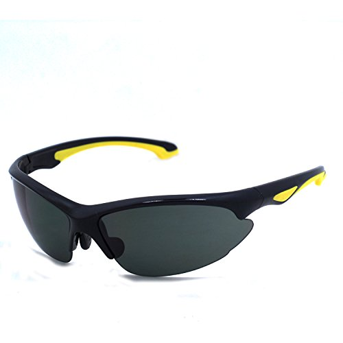 Preisvergleich Produktbild OSSAT Männer - sport - sonnenbrille MIT Outdoor - sport - brille UV400% befestigte flexible TR90 bilderrahmen Schutz