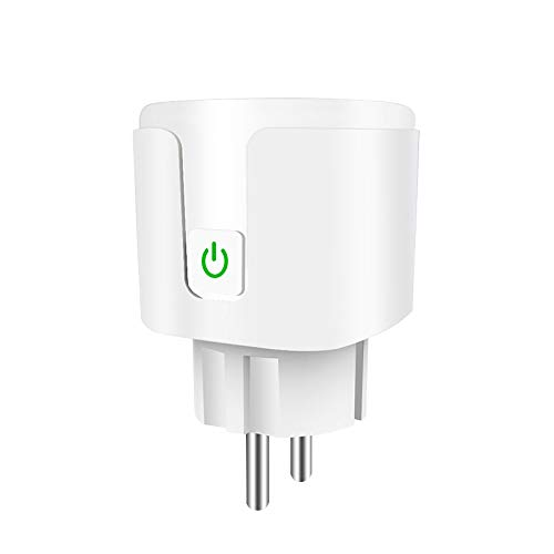 SODIAL Control Remoto Home WiFi Smart Power Enchufe Toma de Interruptor de Temporizador InaláMbrico para Enchufe de la UE Adaptador de Enchufe de Control Remoto InaláMbrico