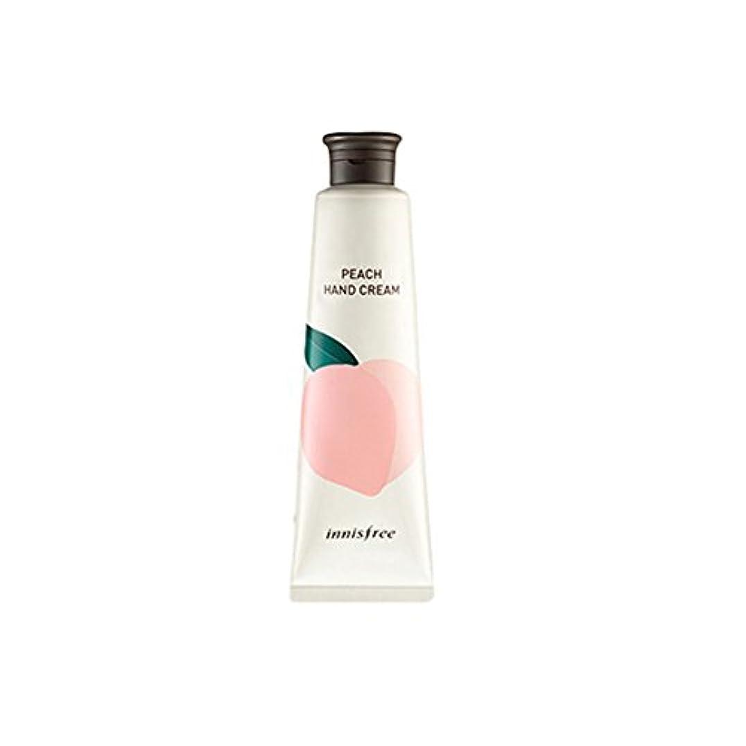 効果パース撤回するInnisfree 済州パヒュームドハンドクリーム(30ml) Innisfree Jeju Perfumed Hand Cream(30ml) [海外直送品] (Peach)