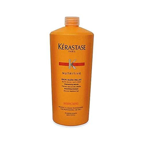 Kerastase Discipline Bain Oleo Relax 1000ml - Antifrizz Shampoo Voor Droog Haar