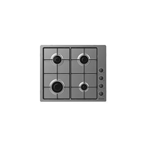 Plaque gaz Candy CHW640LXB - Plaque de cuisson 4 foyers