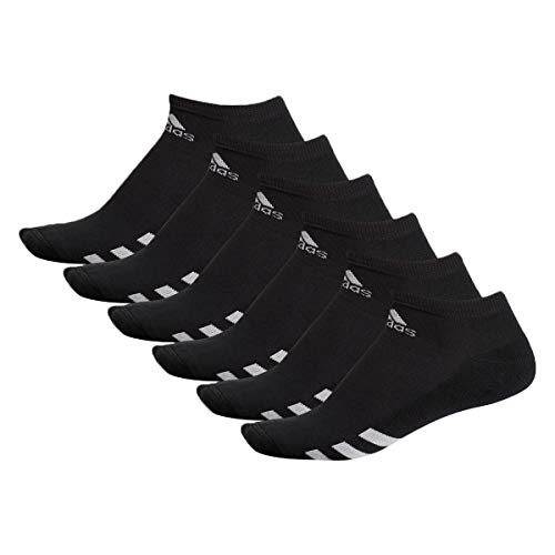 adidas Golf Mens 6 Pack Golf Ankle Socks Black UK 65 10