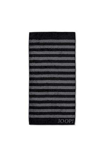 Joop! Handtuch Classic Stripes 1610   90 schwarz - 50 x 100