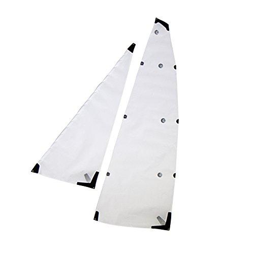 B Sail Set - White for the V1-V5 Joysway Dragon Force DF65 RC Sailboat