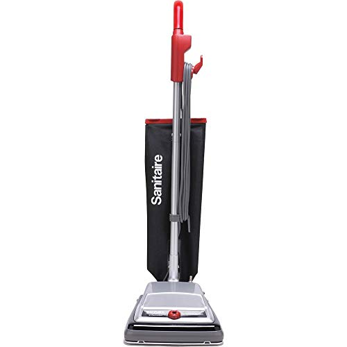 Sanitaire SC889A Heavy-Duty Upright Vacuum, 18 lb, Black