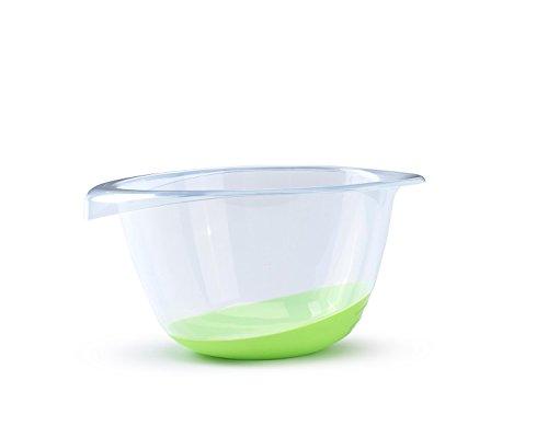 Whitefurze Ciotola di miscelazione di qualità Premium, Verde Lime, 3,5Litri