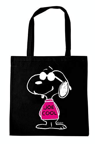 Logoshirt - Comics - Peanuts - Snoopy - Joe Cool Rosa - Borse riutilizzabili per la spesa - design originale concesso su licenza