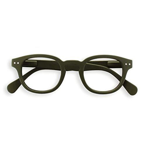 See Concept Lesebrille LetmeSee #C Kaki Green Soft +1.00, 15x4,5x2 cm