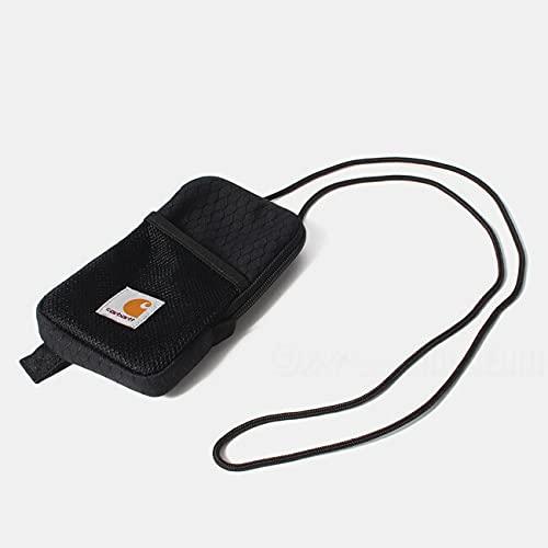 [カーハート] WIP Carhartt SPEY NECK POUCH ネックポーチ ユニセックス ブラック BLACK I028891 BLACK/BLACK [並行輸入品]