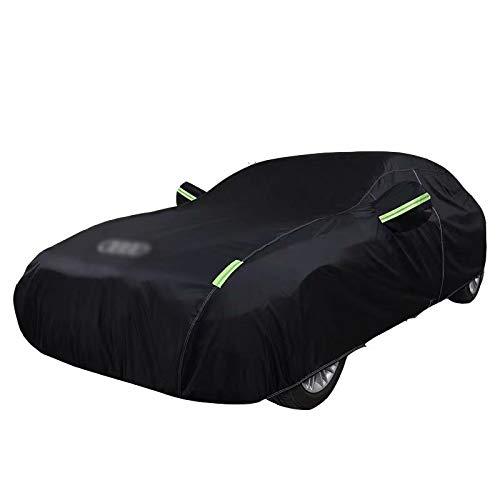 QCYP Cubierta de Coche Adecuado para A3 Hatchback sombrilla a Prueba de Lluvia Cubierta Exterior Coche Artículos de Verano e Invierno para automóviles