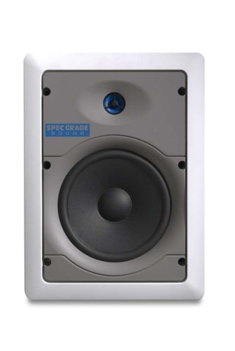 %30 OFF! Leviton SGI65-W 6.5-Inch Two-Way In-Wall Loudspeaker, White
