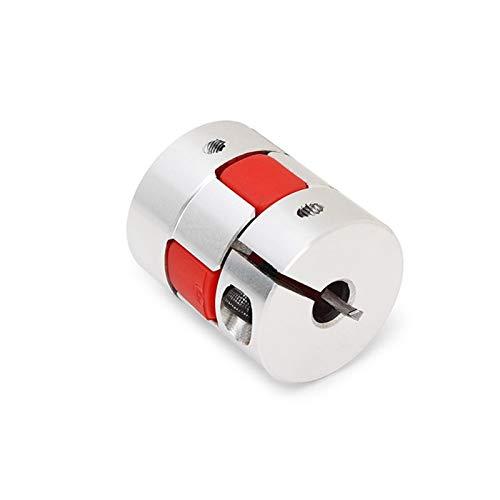 SUOFEILAIMU-PHONE CASE Metal Pareja Serie acoplador D40 L55 Aluminio Eje Flexible Coulping para Motor CNC (Inner Diameter : 22x24)