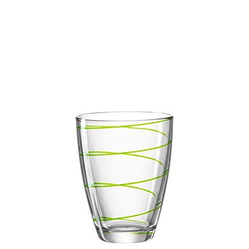 Montana 057342 Jolly Lot de 6 gobelets en verre transparent 350 ml Hauteur 11 cm Passe au lave-vaisselle