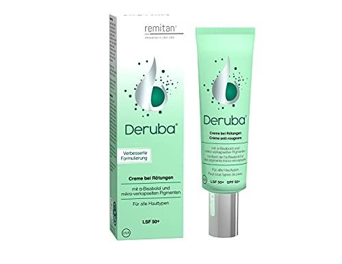 DERUBA Crème Spéciale Anti-rougeurs - 30ml Couperose - SPF50