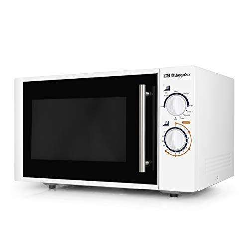 Orbegozo MIG 2520 Microondas, 25 litros de capacidad, 5 niveles de potencia + grill + 3 funciones combi, 900 W, Blanco