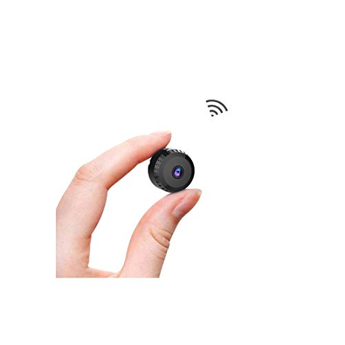 Spy Camera Wireless Hidden WiFi Cameras,AOBO 1080P HD Smallest Mini Security Camera with Phone App for Home Indoor Outdoor Tiny Portable Nanny Cam with Auto Night Vision/Motion Detection Alerts