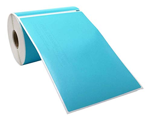"""Compatible with DYMO 1744907 4XL Blue - 1 Roll; 220 Labels per Roll of Multipurpose High Visibility Labels (4"""" x 6"""") 4x6- BPA Free! Ships Fast!"""