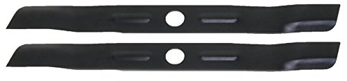 "2 Mulching Mower Blades fit Black and Decker 905541433-01 19"" Deck Made in USA"
