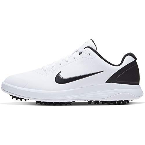 Nike Unisex Infinity G Golfschuh, Schwarz Weiß, 45 EU
