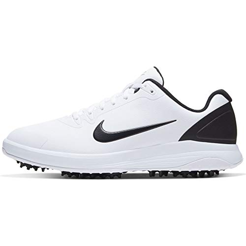 Nike Infinity G, Zapatillas de Hombre Golf, Blanco/Negro. Talla 45 EU