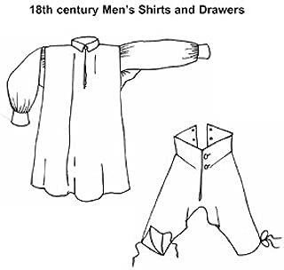 18th Century Men's Shirts & Drawers Pattern