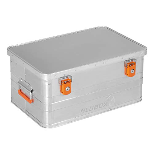 ALUBOX B47 - Aluminium Transportbox 47 Liter, abschließbar