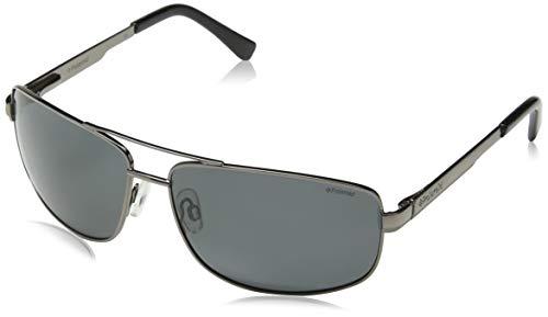 Polaroid P4314 Y2 A4X 63 Gafas de sol, Gris (Gun/Grey Polarized), Hombre