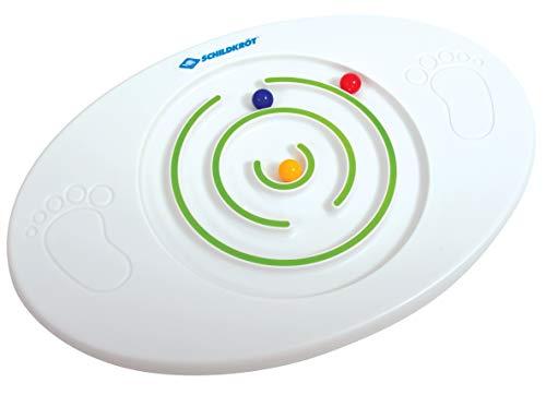 Schildkröt Kinder Balance Board, Balancierbrett mit integrierten Kugellabyrinth, verbindet Gleichgewichtstraining mit Spielspaß, ab 4 Jahren, 970137 Kids