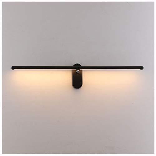 NIUZIMU spiegellamp eenvoudig bedlampje bedlampje slaapkamer verstelbaar op E naar beneden wandlamp voor badkamer wastafel - massief aluminium -0223