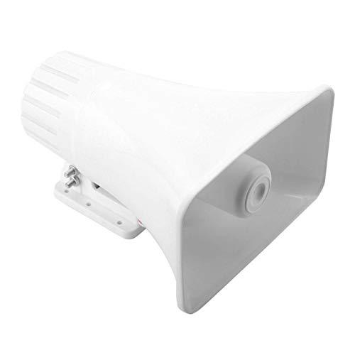 Altavoz de sirena de alarma de instalación flexible de alarma de cuerno fuerte y ligero para seguridad en el hogar con carcasa ignífuga ABS