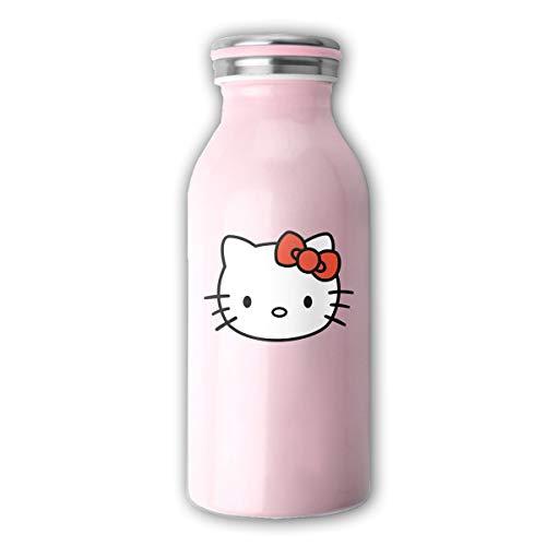 Hello Kitty Tasse Edelstahl Milchbecher Kaffeetasse 350ml handliche Tasse
