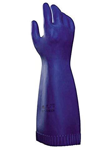 Mapa Professional Industrial-298 GR-KABEL Lot de 8 gants de protection Bleu ,Unité-1