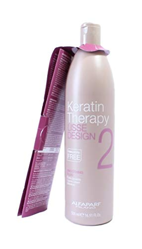 ALFAPARF MILANO Lisse Design Keratin Therapy 2 Smoothing Fluid 500 ml Trattamento Lisciante Alla Cheratina Senza Formaldeide