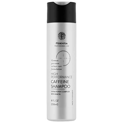 Fidentia Coffein Shampoo mit hochdosiertem Koffein bei Haarausfall und Schuppen - Made-in-Germay (236ml)
