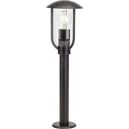 Brilliant Fitzroy buitenlamp 50 cm staande lamp spatwaterdicht roestkleurend industriële look, 1 x E27 geschikt voor normale lampen tot maximaal 40 W.