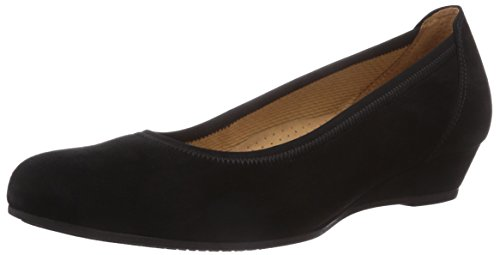 Gabor Shoes Damen Ballerina Pumps, schwarz 47), 38.5 EU