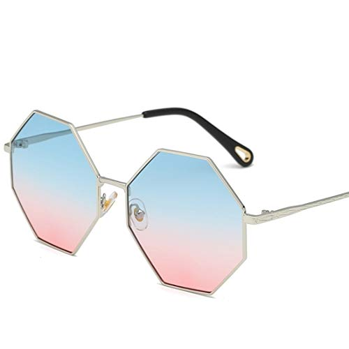 Fusanadarn Polygon zonnebril voor mannen vrouwen mental design straatbrug mode glas