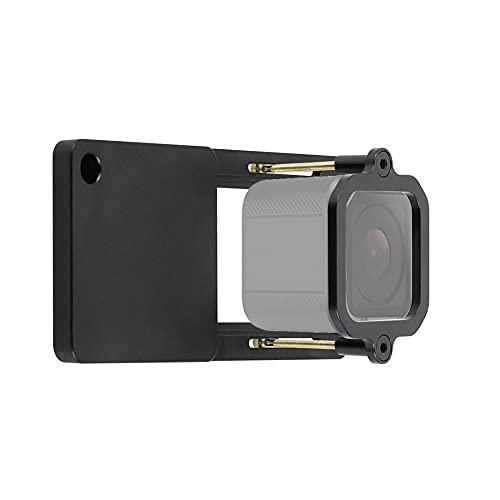 BGNing Kit de adaptador de placa de interruptor de montaje de cámara cardán de aluminio con mango de cabeza de bola de tornillo 1/4 compatible con Gopro Hero 7/6/5/4/3+/Session