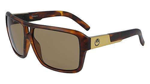 Dragon Mens DR The Jam LL MI Sunglasses, Matte Tortoise, 60mm, 13mm, 135mm