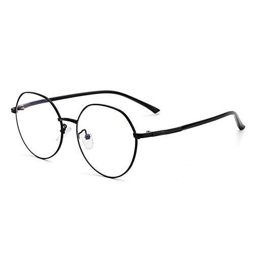 VDSON zonnebril, frame van metaal, onregelmatig, rond frame, comfortabel, voor op de weg, mat, anti-uv-filter, verlichting van vermoeidheid van de ogen
