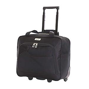 Karabar Brigg Overnight Wheeled Laptop Luggage Case Bag 40 cm 2 kg 25 litres 2 Wheels